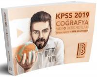 2019 KPSS Coğrafya Video Ders Notları
