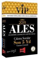 2019 ALES VIP Tamamı Çözümlü Son 5 Yıl Çıkmış Sorular
