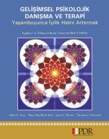 Gelişimsel Psikolojik Danışma ve Terapi
