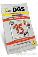 Tasarı DGS Matematik İlk 15 Soru Kitapçığı