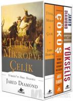 Tüfek Mikrop ve Çelik Üçlemesi (3 Kitap Kutulu, Karton Kapak)