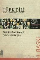 Türk Dili Sayı 481: Türk Şiiri Özel Sayısı 4 (Çağdaş Türk Şiiri)