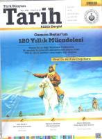 Türk Dünyası Tarih Dergisi Sayı:388 Nisan 2019