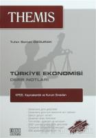 Türkiye Ekonomisi Ders Notları