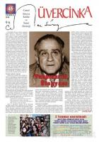 Üvercinka Dergisi Sayı: 45 Temmuz 2018