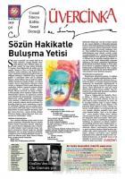 Üvercinka Dergisi Sayı: 56 Haziran 2019
