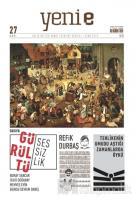 Yeni E Dergisi Sayı: 27 Ocak 2019