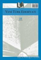 Yeni Türk Edebiyatı Sayı: 18 Ekim 2018