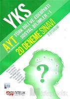YKS AYT Türk Dili ve Edebiyatı Sosyal Bilimler -1 20 Deneme Sınavı