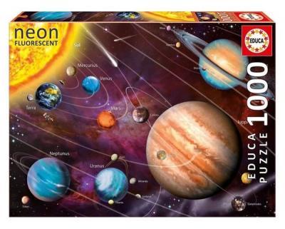 Educa Puzzle Solar System 14461 1000 lik NEO Kolektif