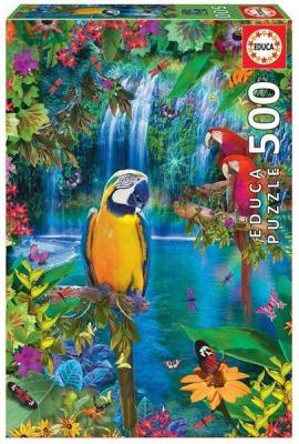 Educa Puzzle Bird Tropical Land 500 Parça 15512 Kolektif