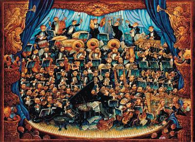 Anatolian Orkestra Fortissimo 1000 Parça 3177 Kolektif-Anatolian Puzzl