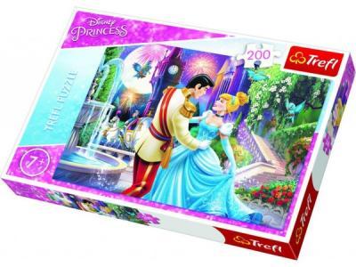 Trefl-Puz.200 Disney Prensesler Ay Işığında Dans 13224 Kolektif-Trefl