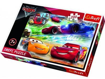 Trefl-Puz.200 Road To Victory Cars 3 13232 Kolektif-Trefl