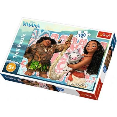 Trefl-Puz.100 Disney Moana Viana 16298 Kolektif-Trefl