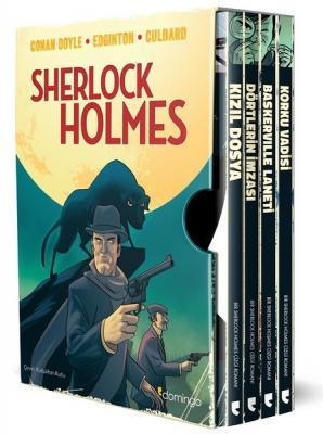Sherlock Holmes Özel Kutulu Set-4 Kitap Takım Ian Edginton