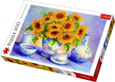 Trefl Puzzle Sunflowers, DDFA 500 Parça 37293 Kolektif-Trefl