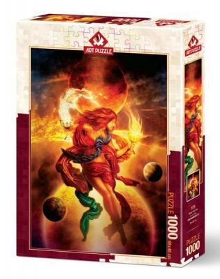 Art Puzzle 1000 Parça Su Ve Ateş 5186