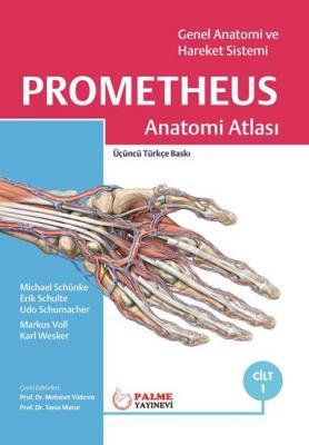 Prometheus Anatomi Atlası 1. Cilt Erik Schulte