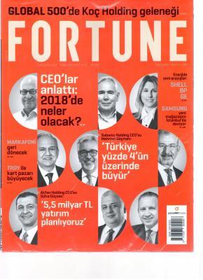 Fortune Ağustos 2017