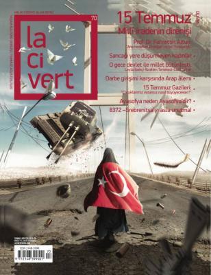 Lacivert Dergisi Sayı: 70 Temmuz 2020