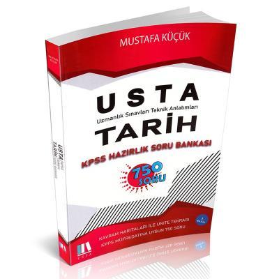 USTA Tarih KPSS Hazırlık Soru Bankası 750 Soru Soru 2021 Mustafa Küçük