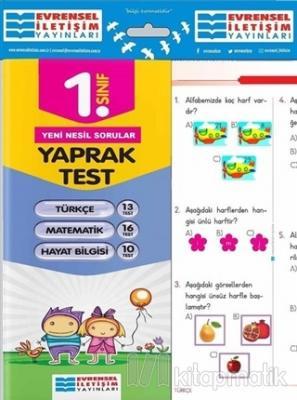1. Sınıf Tüm Dersler Yaprak Testler