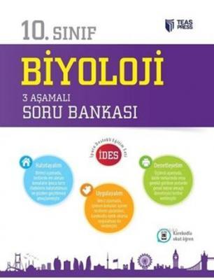10.Sınıf Biyoloji 3 Aşamalı Soru Bankası