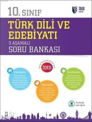 10.Sınıf Türk Dili ve Edebiyatı 3 Aşamalı Soru Bankası