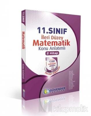 11.Sınıf Matematik İleri Duzey Konu Anlatımlı 2 Kitap Kolektif