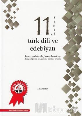 11. Sınıf Türk Dili ve Edebiyatı Konu Anlatımlı Soru Bankası