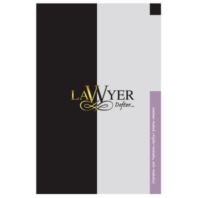 Lawyer Defter - Medeni Hukuk (Kişiler Hukuku-Aile Hukuku) Notlu Öğrenci Defteri