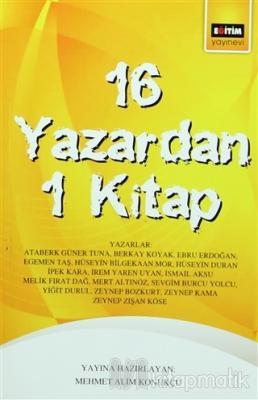 16 Yazardan 1 Kitap