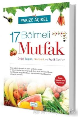 17 Bölmeli Mutfak (Osmanlıca- Türkçe) (Ciltli)