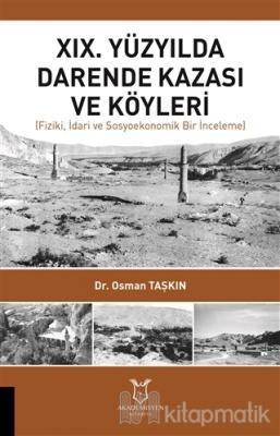 19. Yüzyılda Darende Kazası ve Köyleri