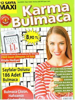 Karma Bulmaca Dergisi Sayı:2020/02 Mayıs - Haziran - Temmuz