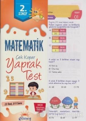 2. Sınıf Matematik Çek Kopar Yaprak Test