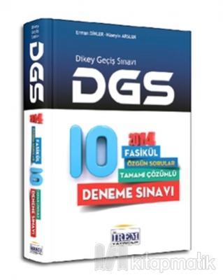 2014 DGS Tamamı Çözümlü 10 Fasikül Deneme Sınavı