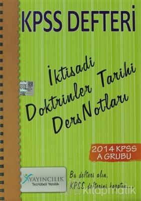 2014 KPSS Defteri İktisadi Doktrinler Tarihi Ders Notları