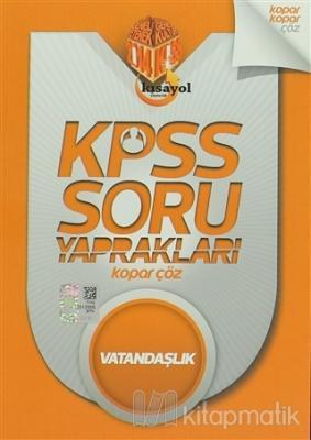 2014 KPSS Soru Yaprakları Vatandaşlık