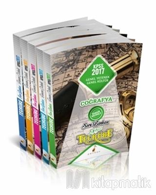 2017 Tecrübe KPSS Genel Yetenek Genel Kültür Tamamı Çözümlü Soru Bankası Seti