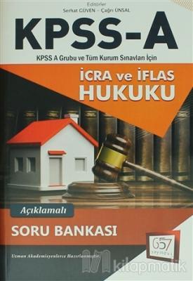 2018 KPSS A Grubu İcra ve İflas Hukuku Açıklamalı Soru Bankası