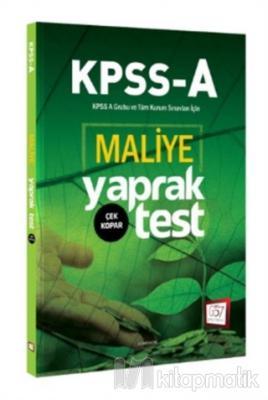 2018 KPSS A Grubu Maliye Çek Kopar Yaprak Test