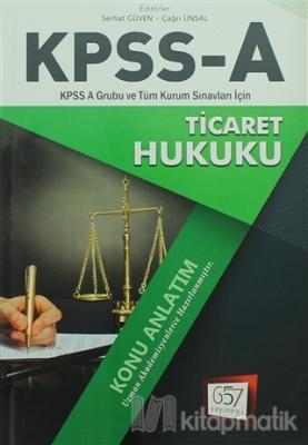 2018 KPSS A Grubu Ticaret Hukuku Konu Anlatım