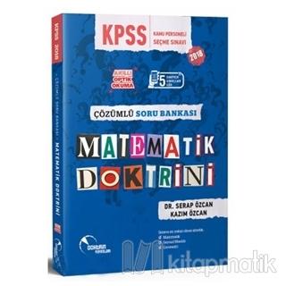2018 KPSS Matematik Doktrini Çözümlü Soru Bankası