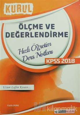 2018 KPSS Ölçme ve Değerlendirme Kurul Hızlı Öğretim Ders Notları