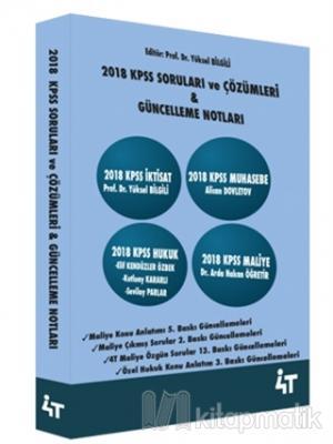 2018 KPSS Soruları ve Çözümleri Yüksel Bilgili