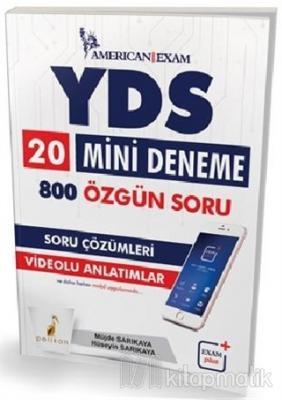 2018 YDS 20 Mini Deneme 800 Özgün Soru