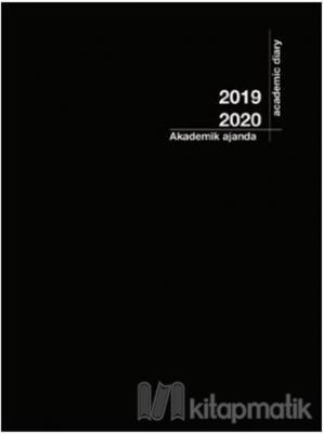 2019-2020 Akademik Ajanda Siyah (3055)