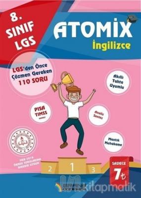 2019 8.Sınıf LGS Atomix İngilizce 110 Deneme Sorusu